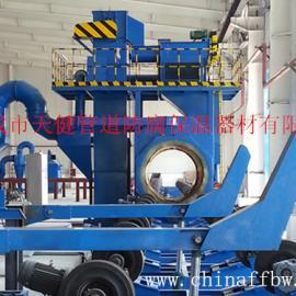 【厂家供应】钢管道外抛丸除锈生产线 价格优惠