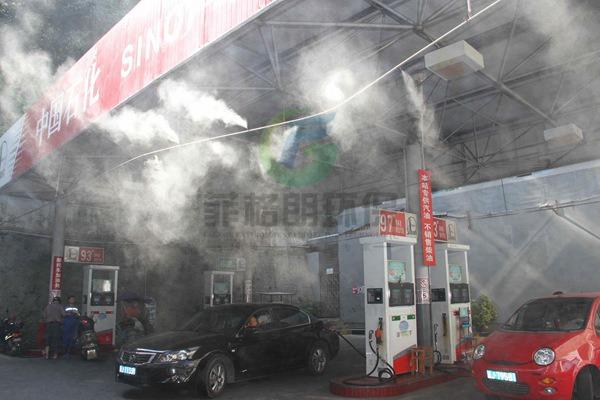 营口加油站/露天加油站喷雾降温设备厂家/菲格朗全国十