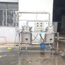 中药提取浓缩机及植物精油提取合二为一设备
