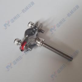 厂家zhixiao不锈钢管卡 不锈钢管箍 不锈钢管夹 不锈钢管zhi架