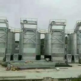 供应福航畜禽粪便处理设备好氧堆肥立式牛粪发酵罐