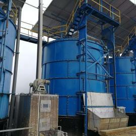 福航畜禽粪便处理设备好氧堆肥立式猪粪发酵罐f-32-116