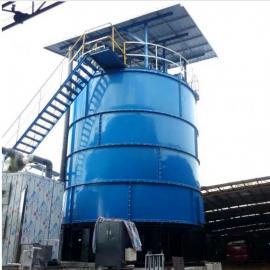 供应福航环保日处理6吨畜禽养殖粪便智能罐式发酵一体机