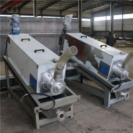 不锈钢材质叠螺式污泥脱水机 供应叠螺污泥脱水机