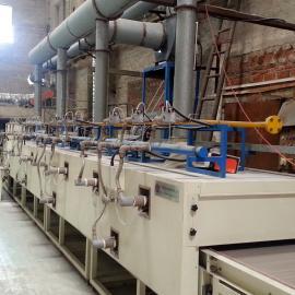 泡沫陶瓷干燥线 天然气红外线生产线