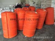 上海崇明岛只600*1200搭建桥梁浮筒 大型塑料浮筒批发
