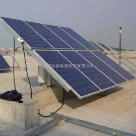 供应绿光TMC-12T型单轴全自动太阳能跟踪系统