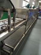 供应佛山不锈钢管超声波除油自动清洗烘干生产线 *定制