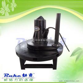 QSB7.5移动式射流曝气机+铸铁不锈钢喇叭口