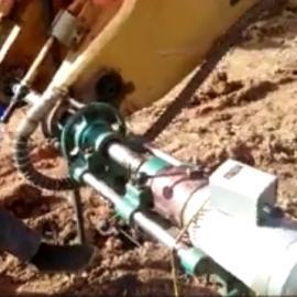 挖机专用便携式镗孔机,铸泰源ZTY-A型挖掘机镗孔机