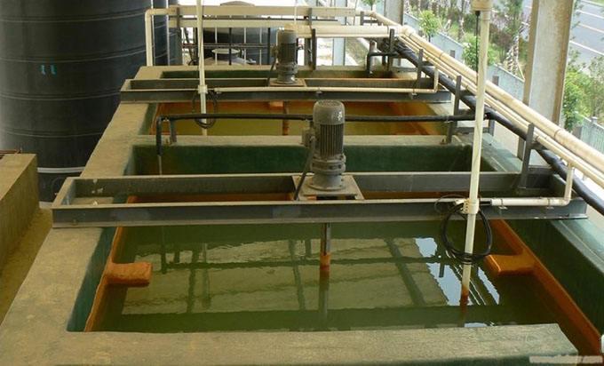 珠三角喷漆废水处理工程提标改造