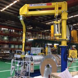 铝卷助力平衡吊、硬臂式助力机械手吸盘吊具