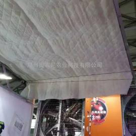 连栋温室内保温系统