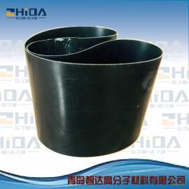 生产HDPE钢带增强螺旋波纹管电热熔带