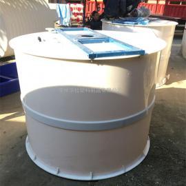 东海厂家定制PP焊接搅拌桶酸洗槽电镀槽生产厂家