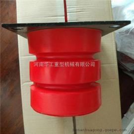 320*320法兰钢板缓冲器 平衡器撞头减震器 定做橡胶缓冲器