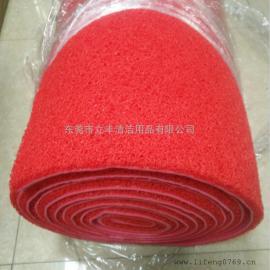 塑料防尘地垫 地毯 红胶地毯 楼梯地毯 红色塑胶地毯