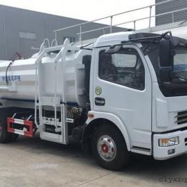 东风小型挂桶式垃圾车