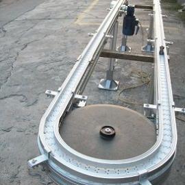 环形易拉罐柔性线链板输送机