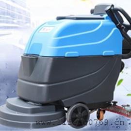 YL-813B全自动洗地机 手推电瓶式全自动洗地机 无线自走式洗地机