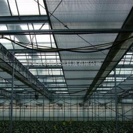 温室幕帘保温-温室内遮阳拉幕系统