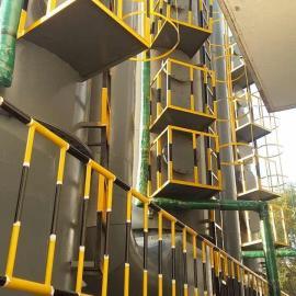 机械自动清灰组合式湿法除尘装置
