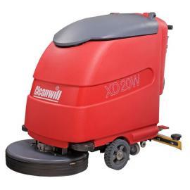 克力威洗地机 电瓶手推式CLEANWILL驾驶式全自动清洁设备