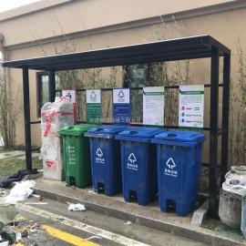 相城雨棚式分类垃圾栏-相城雨棚式分类垃圾提示栏
