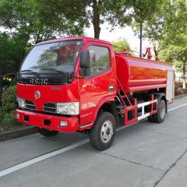 消防明星精品车xing-东风5吨消防sa水车参数介绍