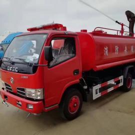 可yi上牌照的国五xin车xing东风5吨消防sa水车优惠xiao售