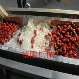 大型洗菜机 商用气泡果蔬清洗机 中央厨房净菜深加工流水线