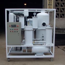 华能风电项目ZJD液压油真空滤油机 除水破乳化滤杂质滤油机