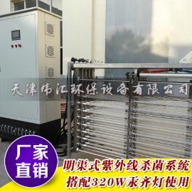 厂家直供 全自动式排架式UV消毒杀菌模块带 自动清洗功能 货期快