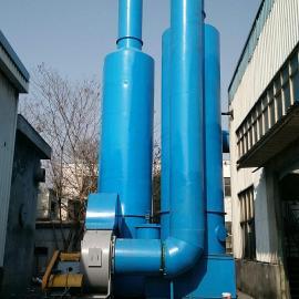 双旋风加水膜焊接除尘设备