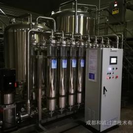 沙棘汁饮料超滤膜过滤设备
