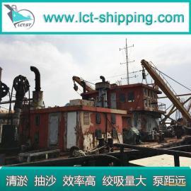 供应工程清污船30寸管绞吸船 绞吸式挖泥船 自吸自卸沙船