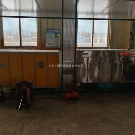 橡胶密封件厂家等离子光氧一体机净化现场展示