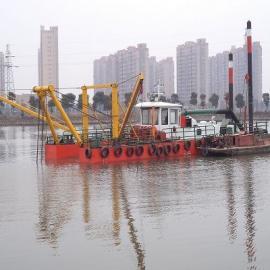 绞吸式挖泥船xia小河道清淤需要多大chi寸de船