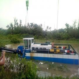 绞吸式挖泥船作为河道保洁船xiao果好