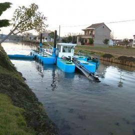 环保绞吸清淤船 海宁绞吸式挖泥船能进xing泥shuifen离吗