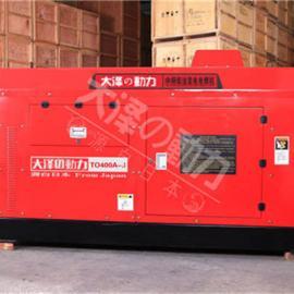 400A静音柴油发电电焊机组