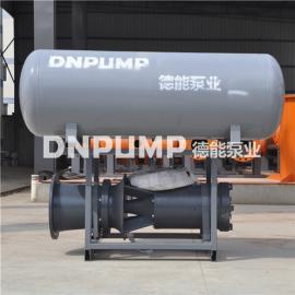 浮筒泵 漂浮式安装中吸泵