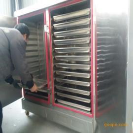 博远供应双门24盘馒头蒸箱 米饭蒸饭柜 不锈钢蒸箱 厂家直销