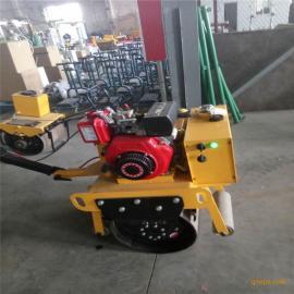 厂直销 单轮压路机 手扶式压实机 便宜路面压路碾