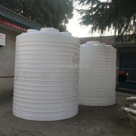 hua社10吨外加剂搅拌水箱PEju乙烯储罐防dong�liao�塔滚塑工艺10T