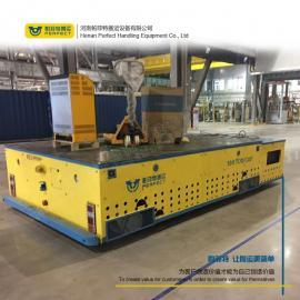 定制平板搬运平车车间钢板过跨车无线遥控
