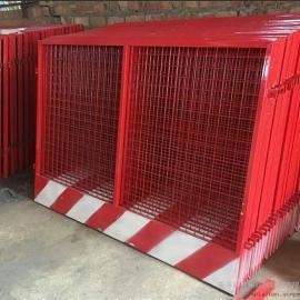 建筑基坑临边防护栏/深基坑临边防护栏尺寸