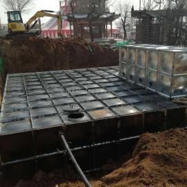 SMC装配式水箱安装