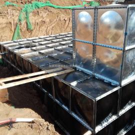 地埋式消防水箱安装