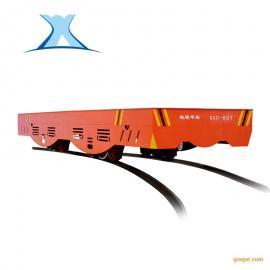 电池轨道车50t平板车电动搬运平车重型无轨蓄电池平板车地轨小车